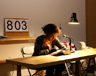 Zadie Smith at Triple Canopy's first annual marathon reading of Gertrude Stein's <em>The Making of Americans</em>.